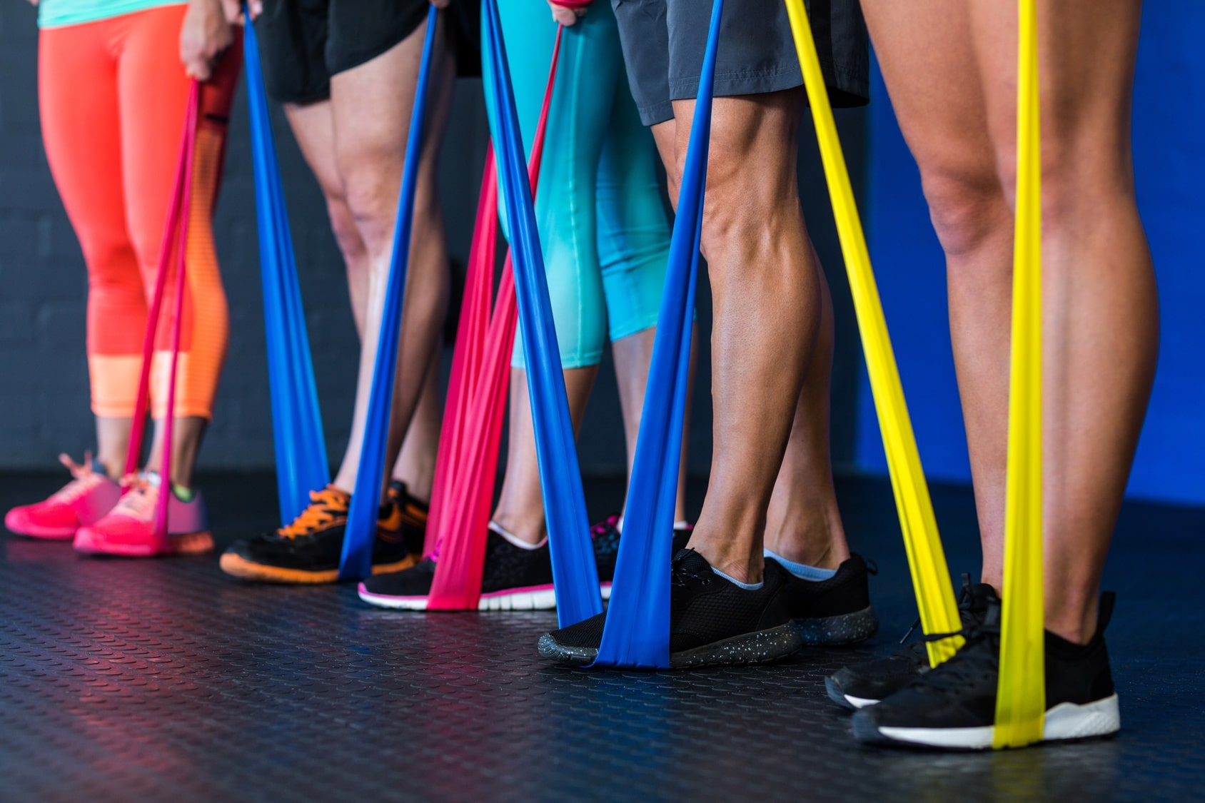 Resistance Bands Training exercises