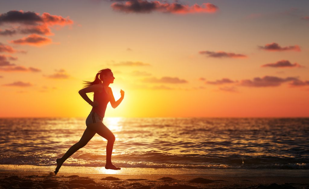 woman doing Running Workouts for Speed