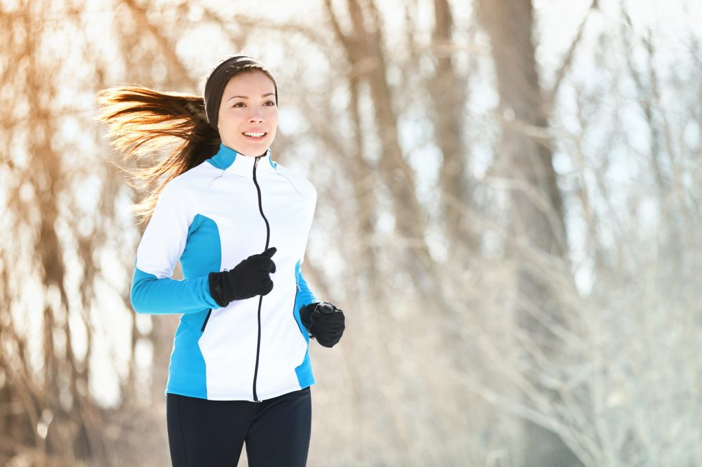 runner breathing in cold weather