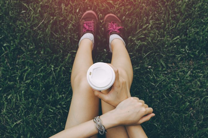 picture of drink coffee before a run