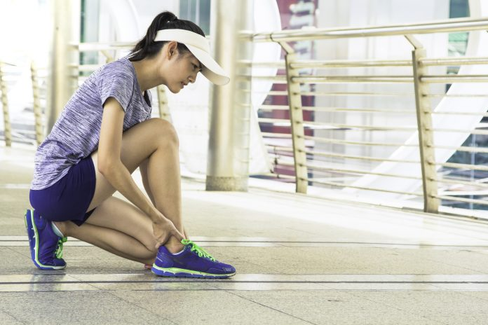 running ankle pain