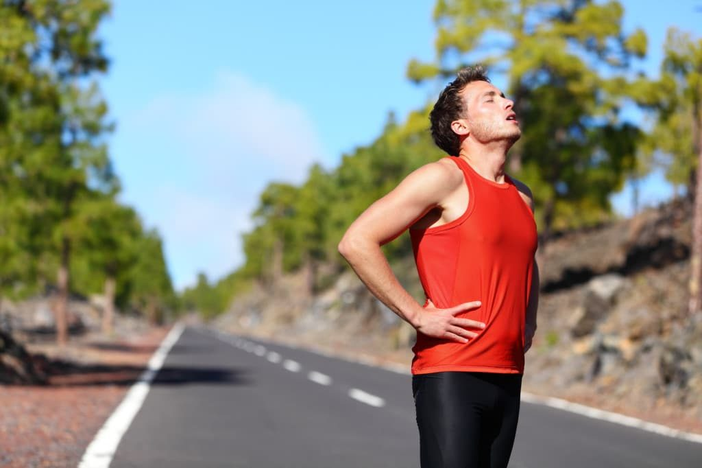 runner suffering from hip Pain From Running