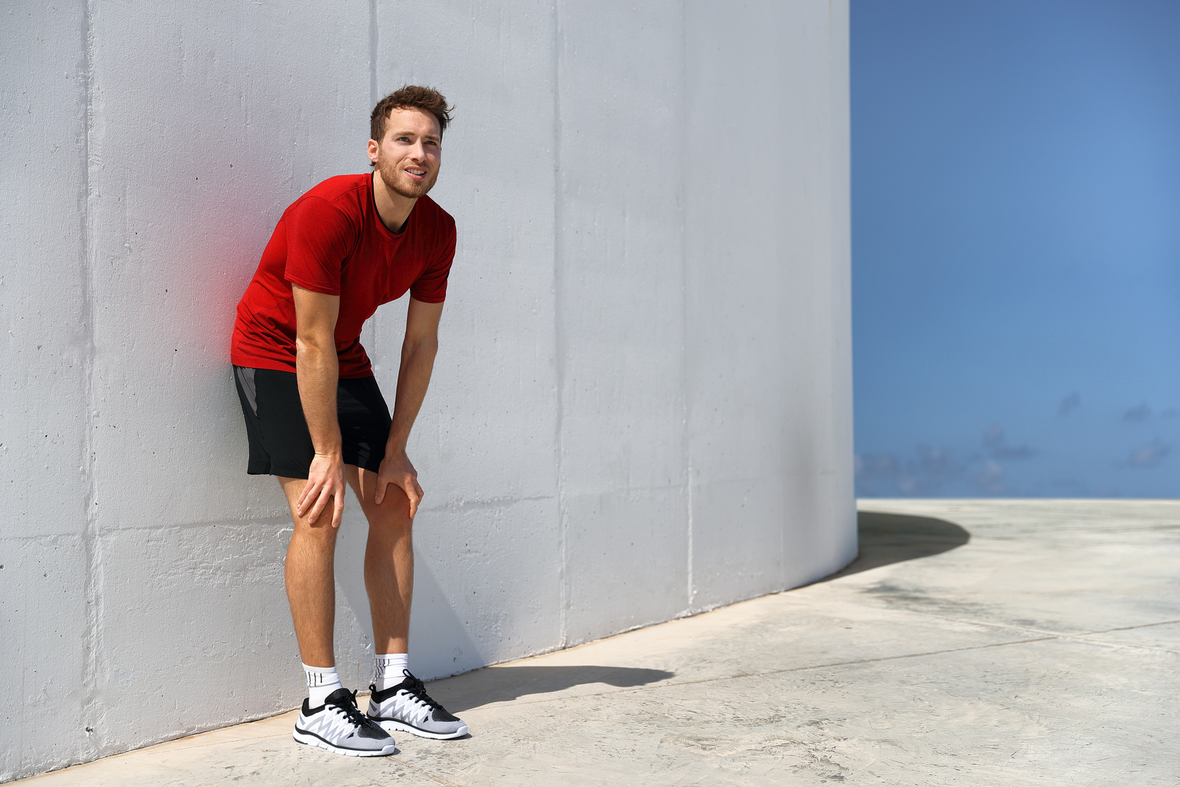 runner trying to Make Running Less Difficult