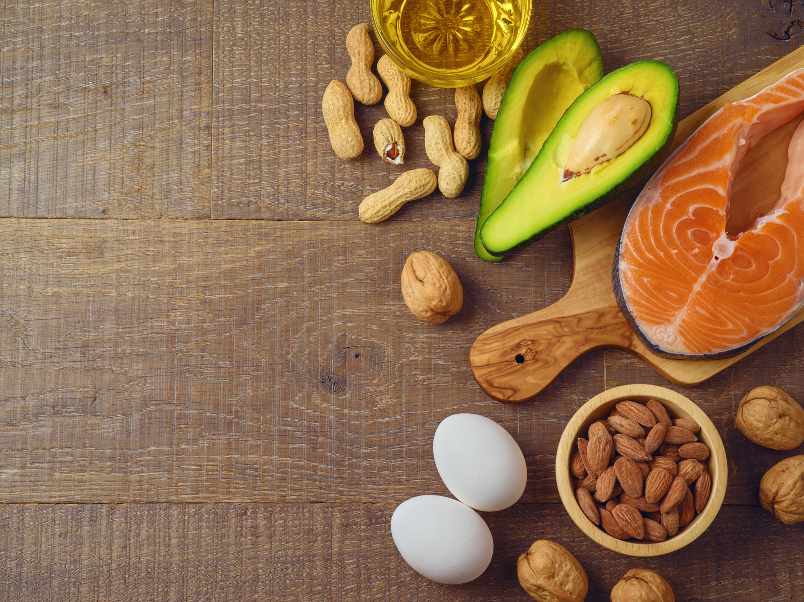 foods for the keto diet list