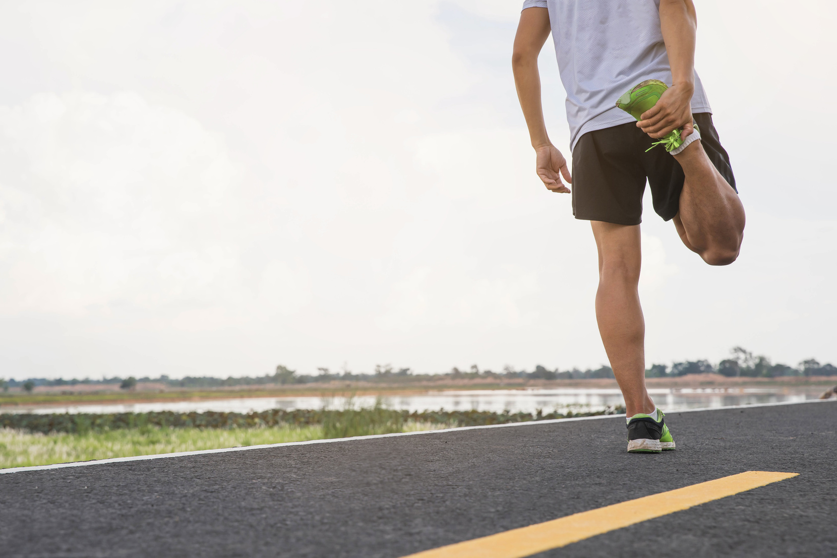 stretching is not a post run mistake