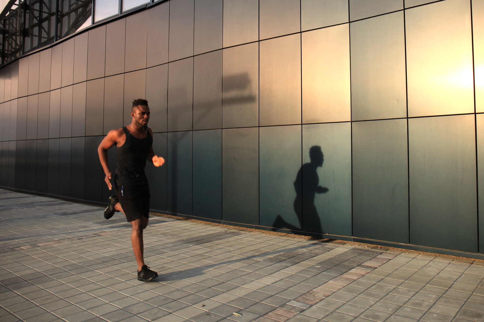 runner trying to improve his performance